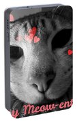Meow-entine Portable Battery Charger