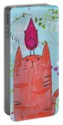Meow Song Portable Battery Charger