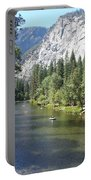 Merced River In Yosemite Portable Battery Charger