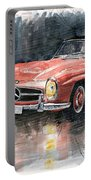 Mercedes Benz 300sl Portable Battery Charger