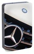 Mercedes-benz Emblem - Grille Logo -0030c Portable Battery Charger