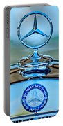 Mercedes Benz Hood Ornament Portable Battery Charger