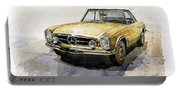 Mercedes Benz W113 Pagoda Portable Battery Charger
