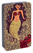 Mermaid Dreams Portable Battery Charger