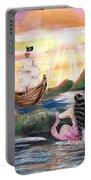 Mermaid Lagoon Portable Battery Charger