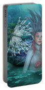 Mermaid Of The Deep Sea 2 Portable Battery Charger