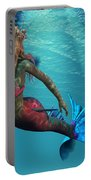 Mermaid Of The Ocean Portable Battery Charger