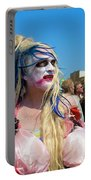Mermaid Parade Man In Coney Island Portable Battery Charger