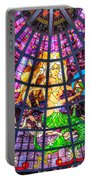 Mermaid Stained Glass Art  Portable Battery Charger