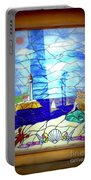 Mermaid Window  Portable Battery Charger