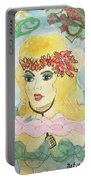 Mermaid With Music  Portable Battery Charger