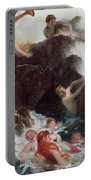 Mermaids At Play Portable Battery Charger