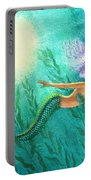 Mermaid's Garden Portable Battery Charger