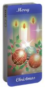 Merry Christmas 1 Portable Battery Charger