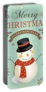 Merry Christmas-jp2766 Portable Battery Charger