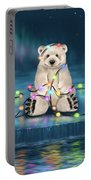 Merry Christmas  Portable Battery Charger by Veronica Minozzi