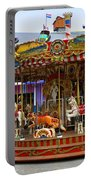 Merry-go-round At The Prater Portable Battery Charger