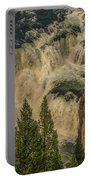 Mesa Falls In Summer Portable Battery Charger