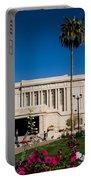 Mesa Temple Petunia Portable Battery Charger