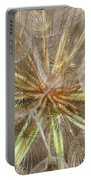 Mesmerizing Salsify Macro Portable Battery Charger