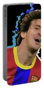 Messi 3498 By Nicholas Nixo Efthimiou Portable Battery Charger