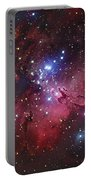Messier 16, The Eagle Nebula In Serpens Portable Battery Charger