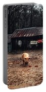 Messy Pig Farm Lot Portable Battery Charger