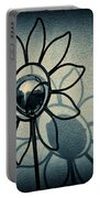 Metal Flower Portable Battery Charger