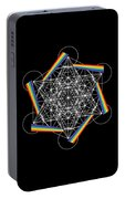 Metatron's Cube 5d Portable Battery Charger