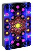 Metatron's Cube Portable Battery Charger