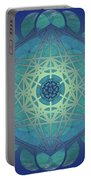 Metatrons Cube Portable Battery Charger