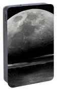 Meteor Crater Moon Portable Battery Charger