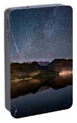 Meteor Over Sierra Nevada Portable Battery Charger