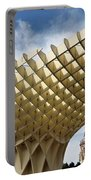 Metropol Parasol At The Plaza Of The Incarnation In Seville Spai Portable Battery Charger
