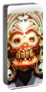 Mexican Day Of The Dead Mask Portable Battery Charger