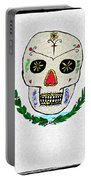 Mexican Flag Of The Dead Portable Battery Charger