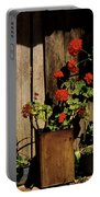 Mexican Geraniums Portable Battery Charger