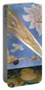 Mexican Mural Painting Portable Battery Charger