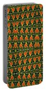 Mexican Poppy Field Abstract Portable Battery Charger