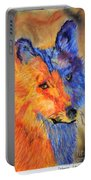 Mexican Wolf Portable Battery Charger