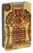 Mexico: Aztec Sacrifice Portable Battery Charger