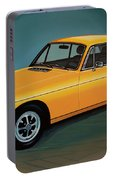 Mgb Gt 1966 Painting  Portable Battery Charger