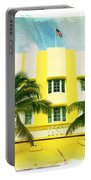 Miami South Beach Ocean Drive 2 Portable Battery Charger