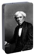 Michael Faraday, English Physicist Portable Battery Charger