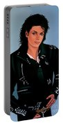 Michael Jackson Bad Portable Battery Charger