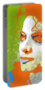 Michael Jackson Green And Orange Portable Battery Charger