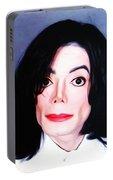 Michael Jackson Mugshot Portable Battery Charger