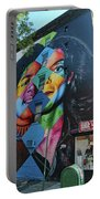 Michael Jackson Mural  Portable Battery Charger