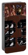 Michael Jordan Wood Art 2h Portable Battery Charger