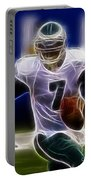 Michael Vick - Philadelphia Eagles Quarterback Portable Battery Charger by Paul Ward